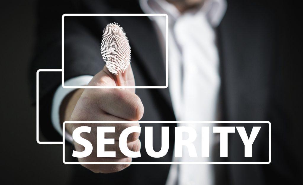 Fingerprint for security