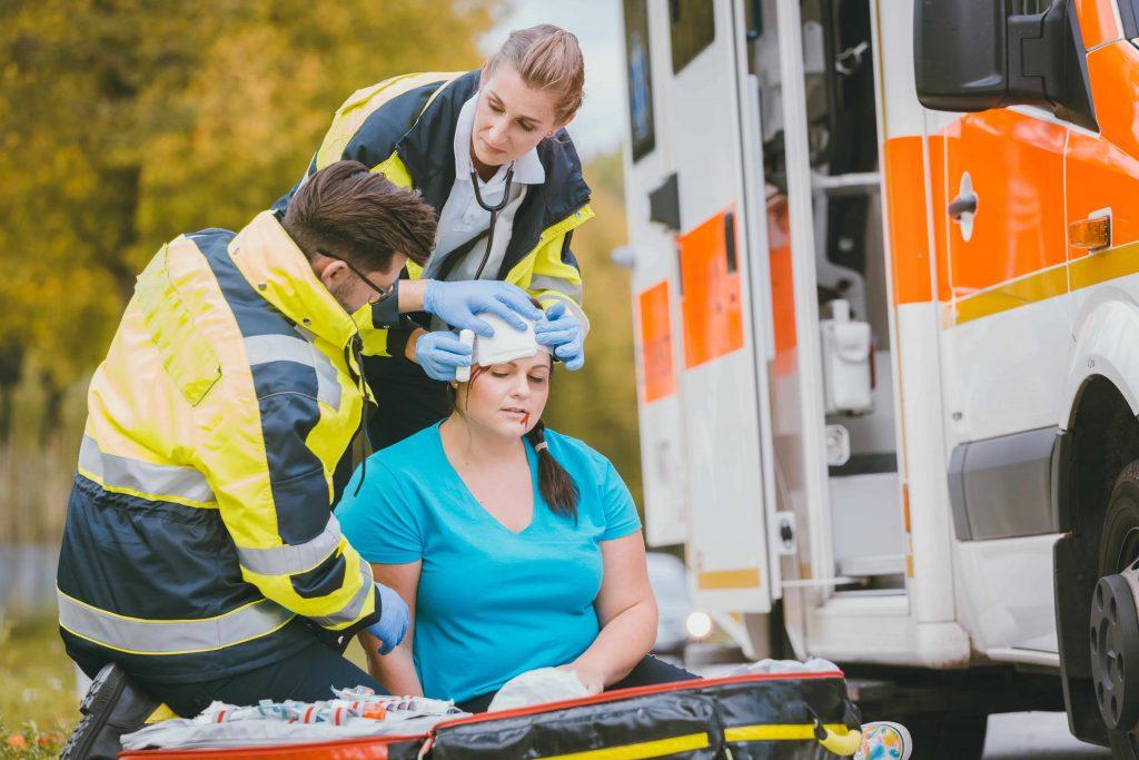 Car Accident Emergency Medics