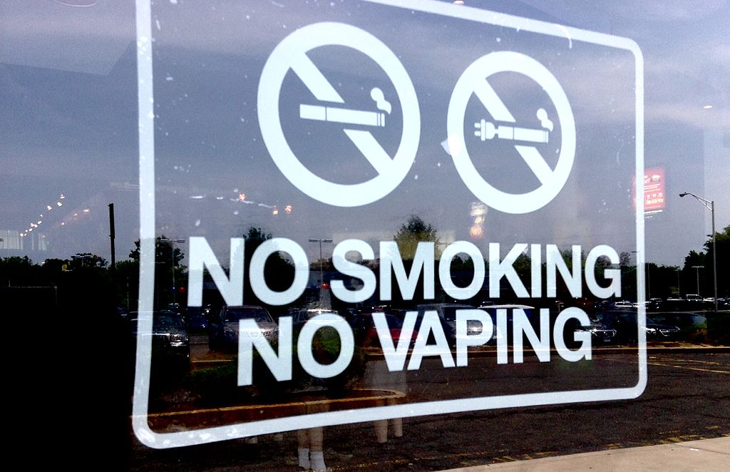 No vaping ban as vaping lawsuits are being resolved