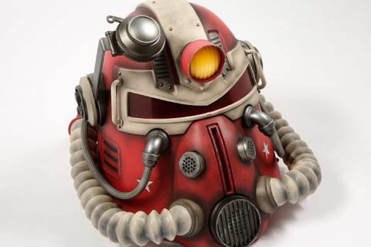 power armor collectible helmet that was recalled due to mold