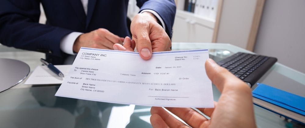 Getting a settlement check after showing partial fault in some states