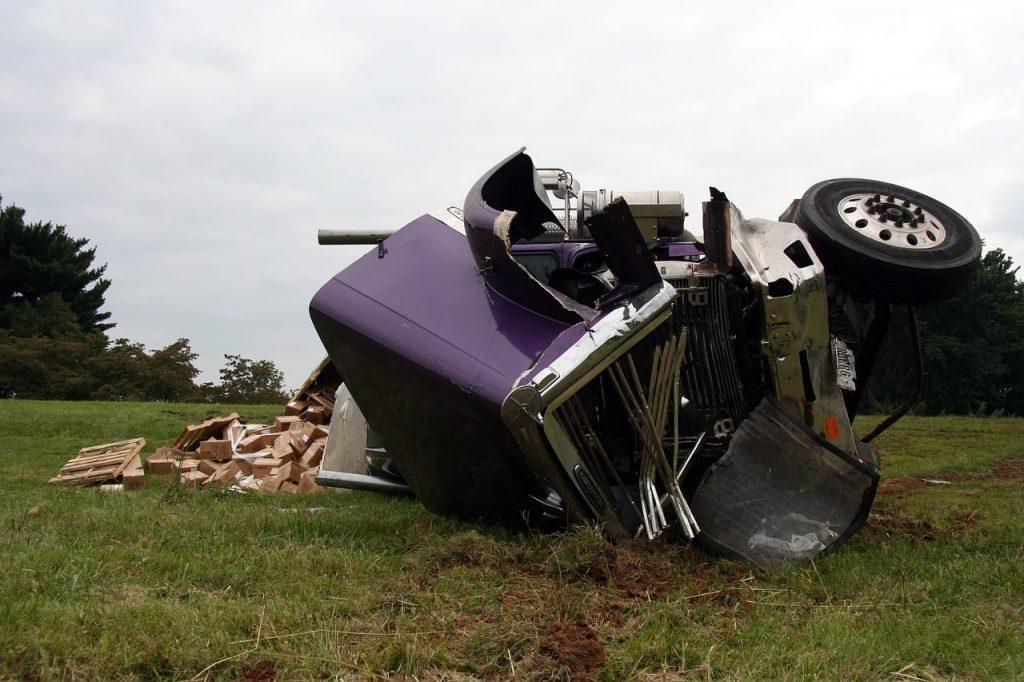 Truck crash