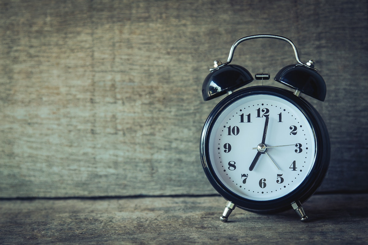 Alarm clock, representing time running out on statute of limitations